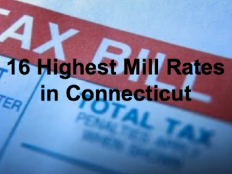 Ct Cities With Lowest Property Taxes
