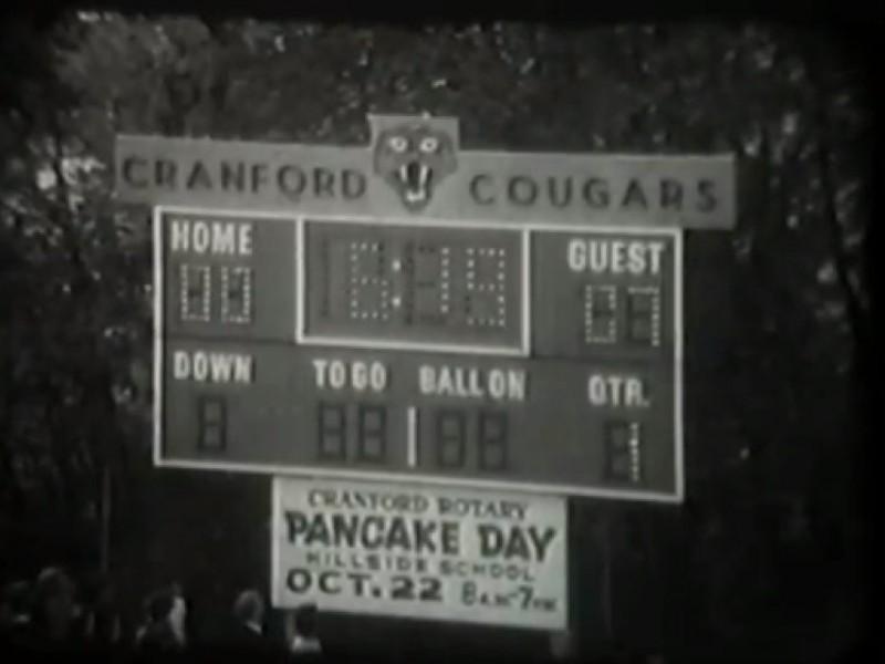 Vintage Video Cranford Football Versus Westfield 1977