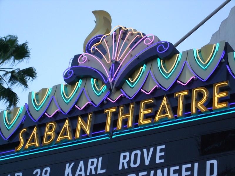 Image result for saban theatre beverly hills