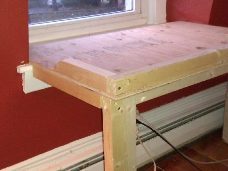 Brighten Your Dog's Life with a Homemade Window Seat ...