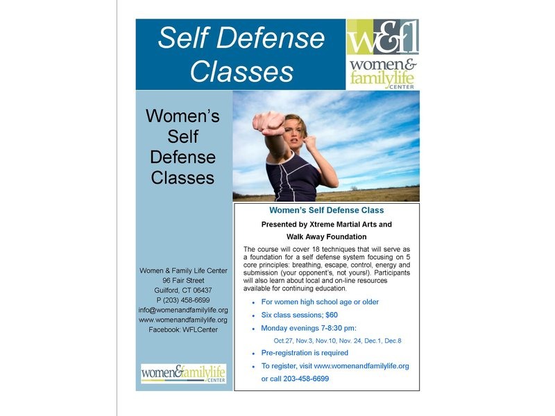 Women's Self Defense Class | Wallingford, CT Patch