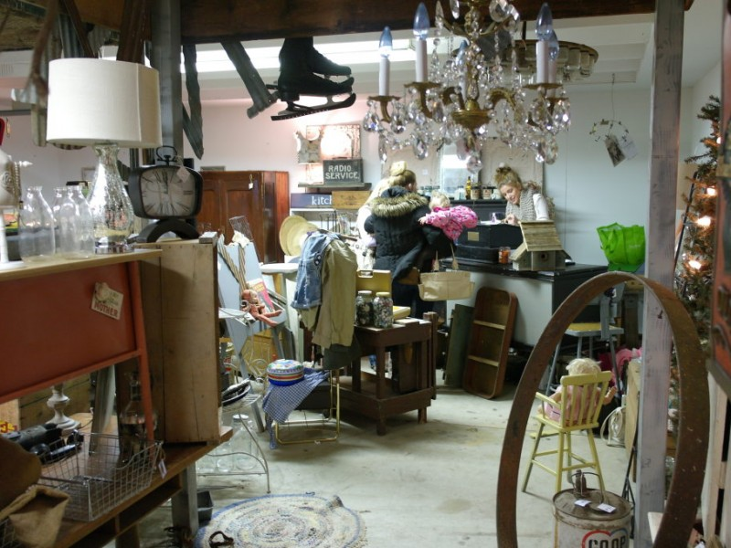 Stewu0027s: In A Cedar Falls Garage, Rescuing Antiques And Dealing In U0027Shabby  Chicu0027 | Cedar Falls, IA Patch