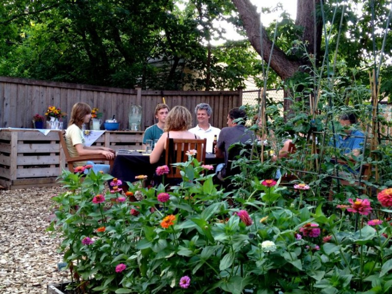 Locally Grown Dinner Party Benefits Kingfield Community Gardens ...
