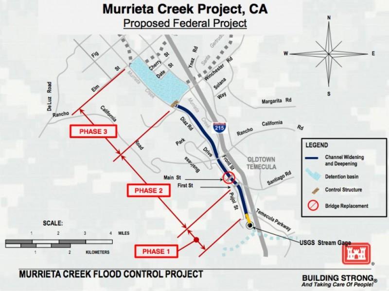 Fingers Crossed for Murrieta Creek Flood Control Project Temecula