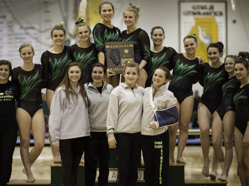 Fremd Girls Gymnastics Advance To Sectionals Palatine