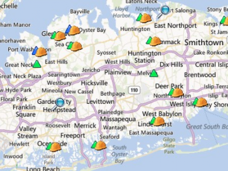 UPDATE Power Outages Reported in Levittown