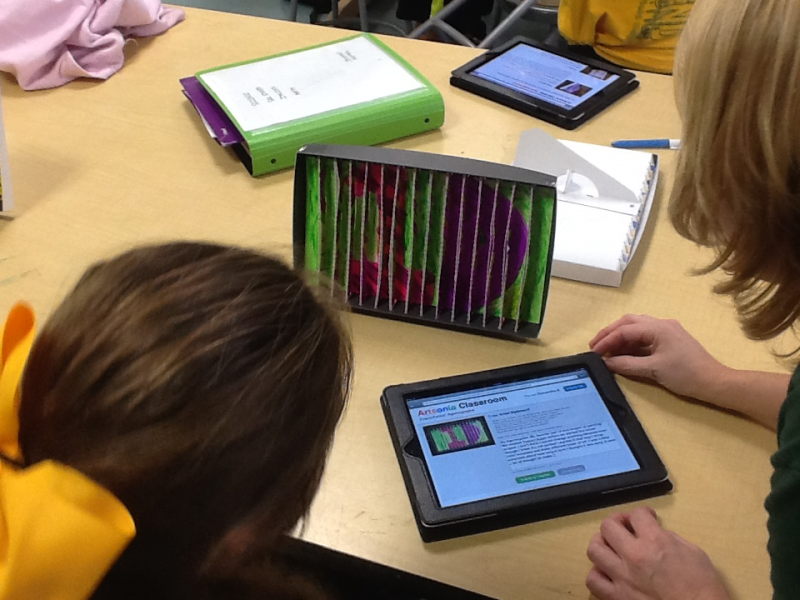 Lynbrook Students Infusing Technology and Literacy into Art Instruction