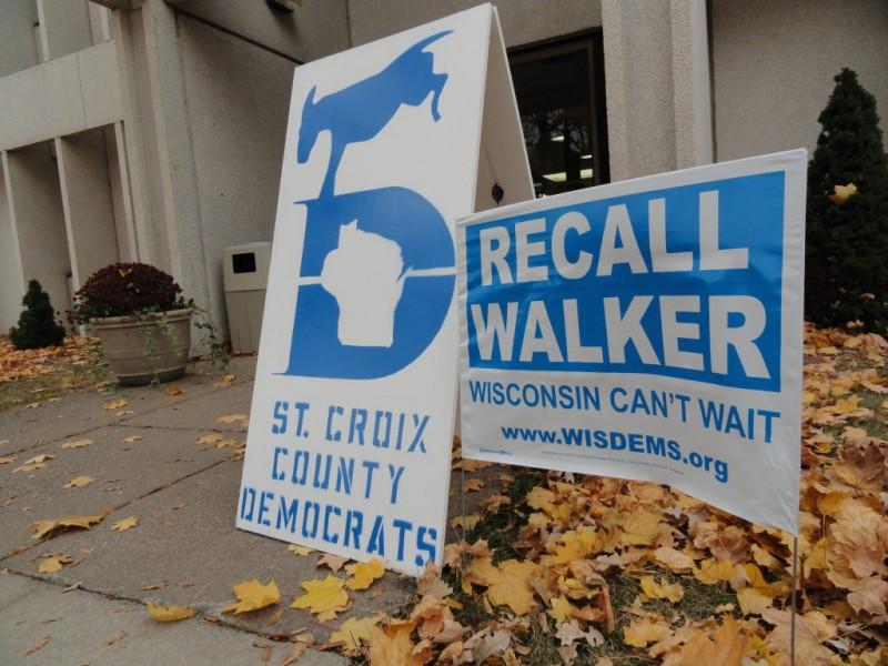 Wisconsin Cant Wait Recall Walker >> Scott Walker Recall Petition Drive Underway In Hudson Hudson Wi Patch