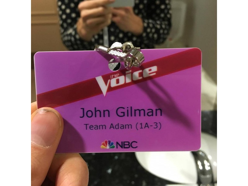 John Gilman Of Bayville Shines In \'The Voice\'   Berkeley, NJ Patch