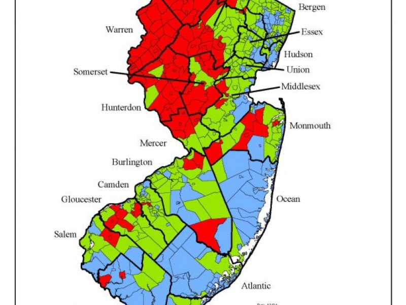 Galloway Recognized For Efforts To Combat Radon Galloway NJ Patch - Radon us map
