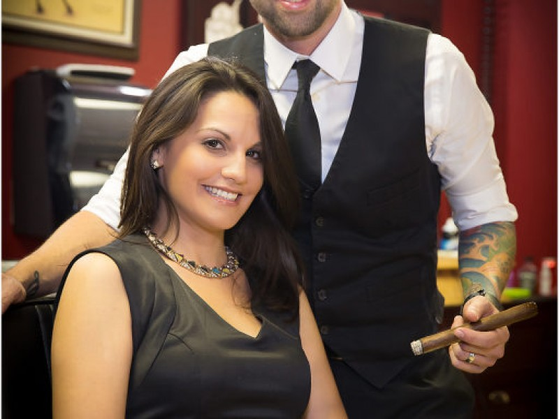 Ultimate Mancave: New Business Combines Cigars and Barbershop