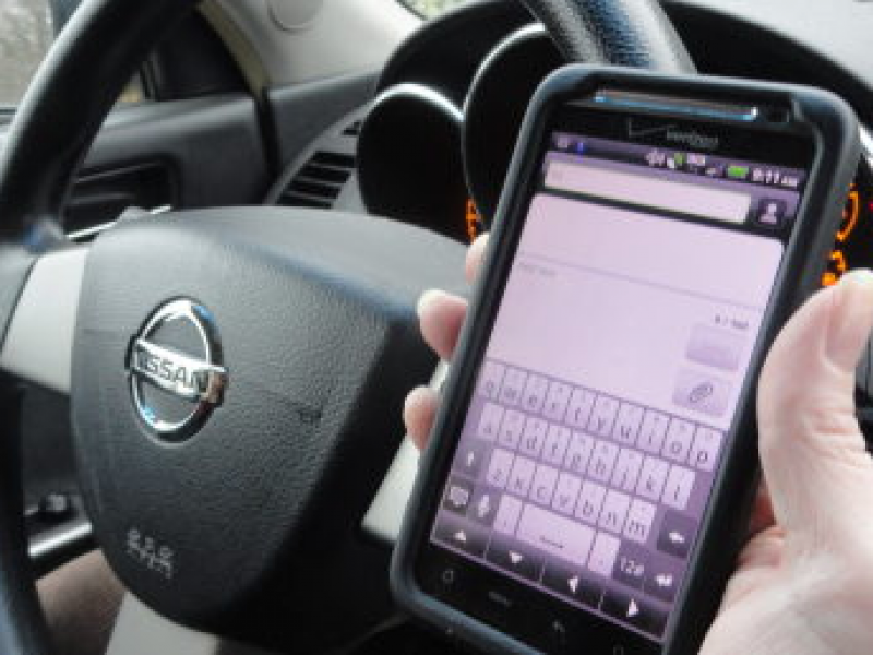 New Law Banning Texting While Driving Starts Oct. 1
