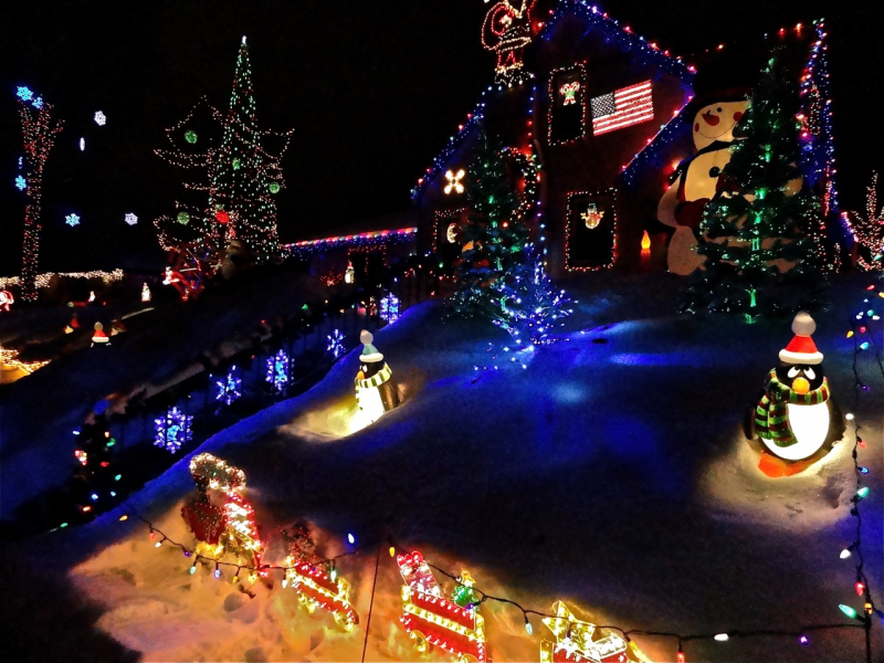 where are the twin cities best holiday lights