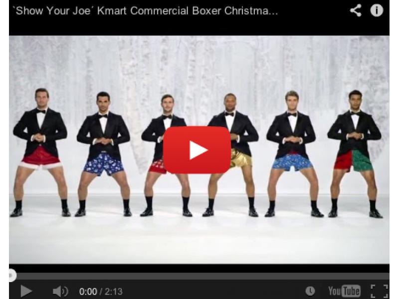 Have You Seen Kmart\'s New Joe Boxer Ad? | Johns Creek, GA Patch