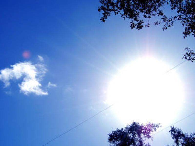 Mostly Sunny Sky