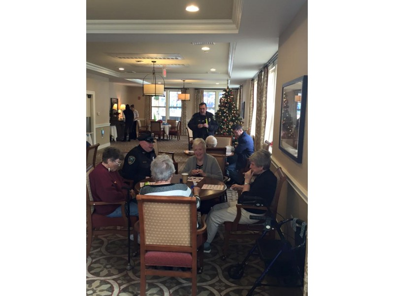 Wayland Pd Plays Bingo With Seniors Meeko Is Missing New Horizons The Best Of Local Streams