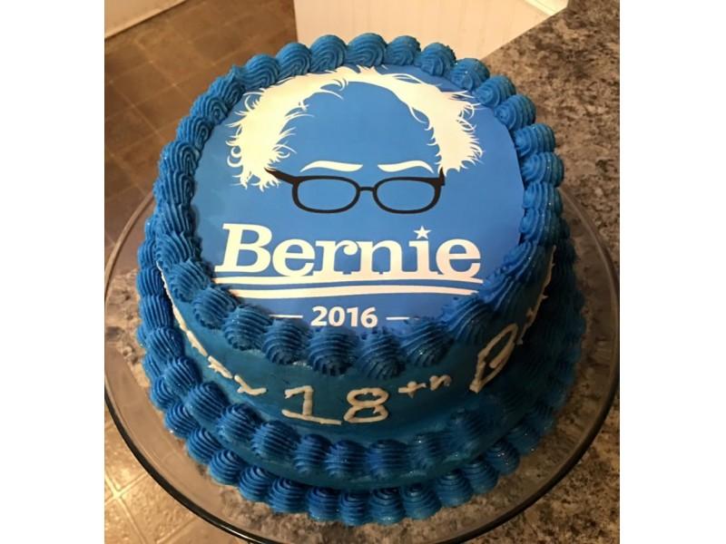 Sweet Sanders Cake Berns Up The Internet