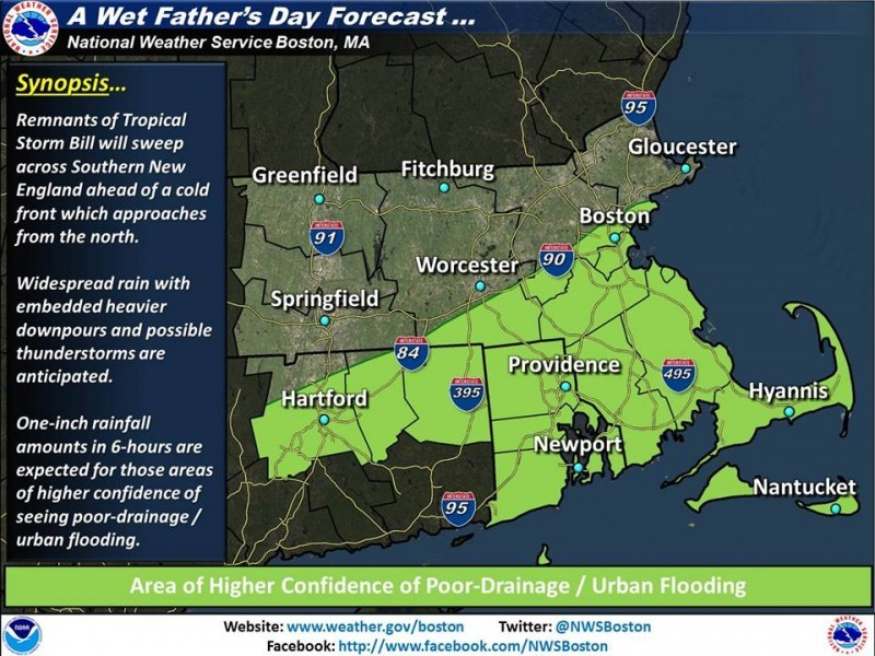 Weather Update Fathers Day Forecast For Shrewsbury Goes From Bad To Worse Shrewsbury Ma Patch