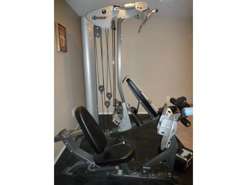 Hoist v personal home gym exc condition frankfort il