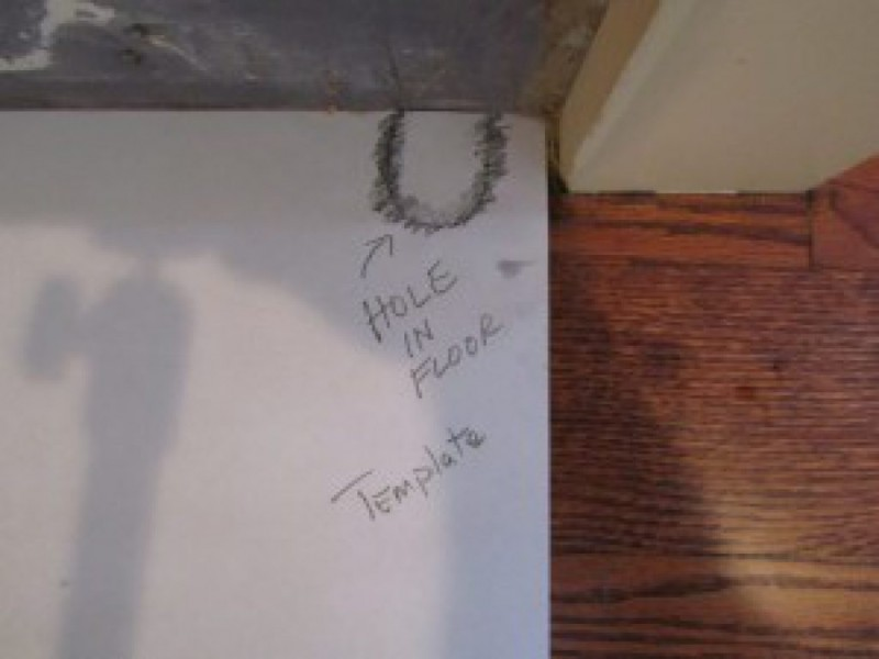 Filling Radiator Pipe Holes In Hardwood Floors Concord Ma Patch