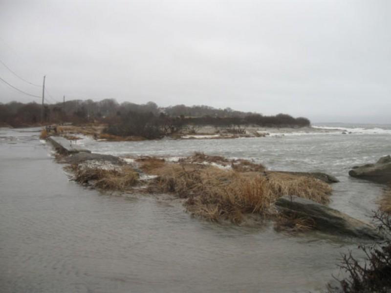 Wind Driven Rain And High Tide Flood Third Beach Areas Video