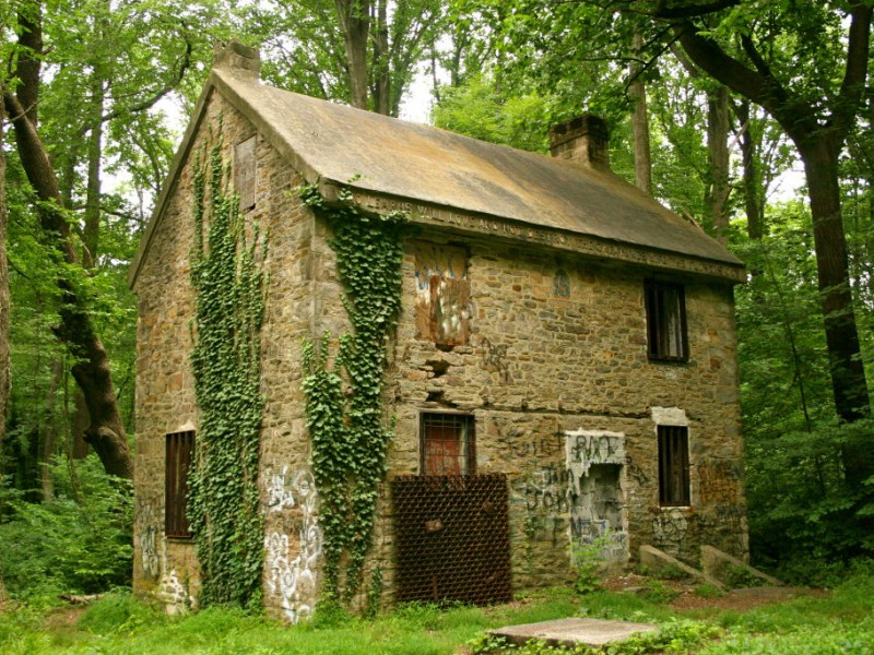 What Was The Little Stone House In Fonthill Woods
