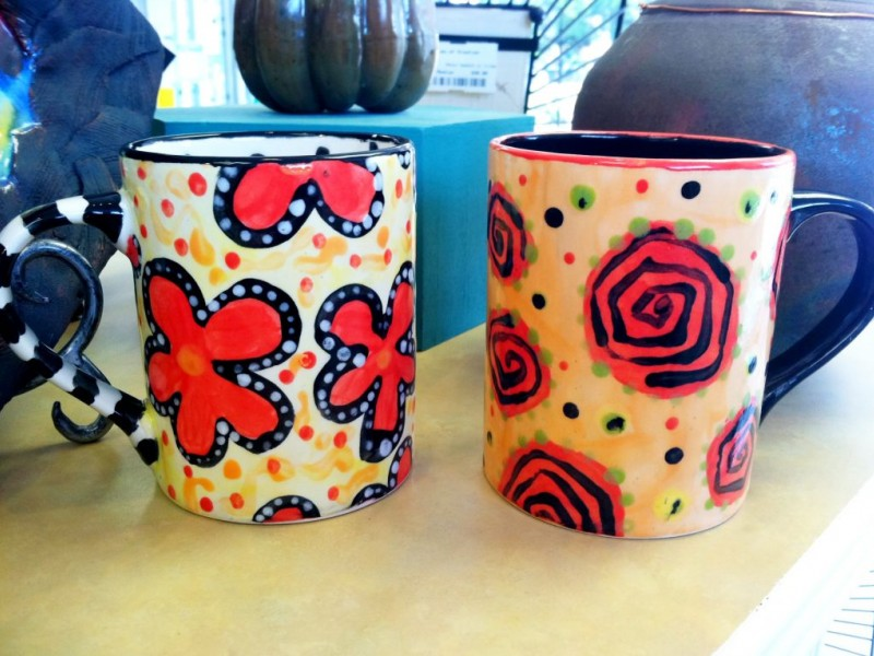 Paint Your Own Pottery Last Summer Open Studio Session