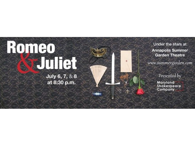 Romeo And Juliet Will Be Performed At The Annapolis Summer Garden Theatre Annapolis Md Patch