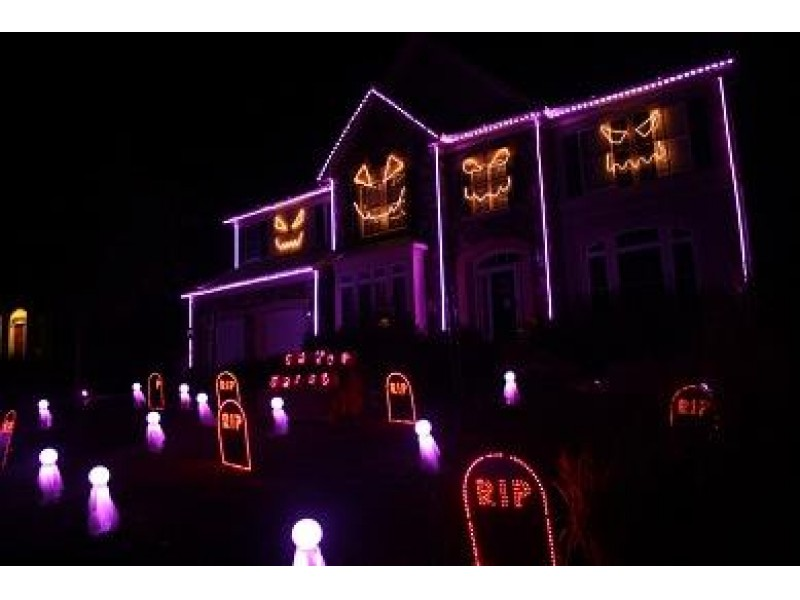 Spectacular Halloween Light Show at Leesburg Home | Leesburg, VA Patch