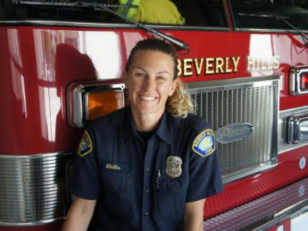 Focus on a Beverly Hills Firefighter: Fire Engineer Melissa Hillis ...