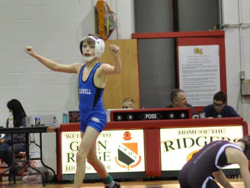 Caldwell Jr Wrestling Impressive At Essex Tournament