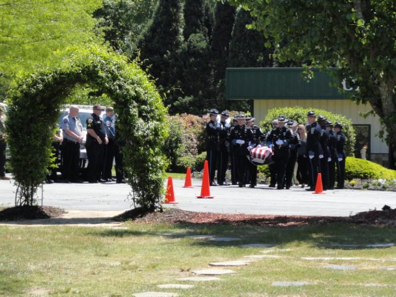 Gwinnett County Police K-9 Caleb Laid to Rest | Dacula, GA Patch
