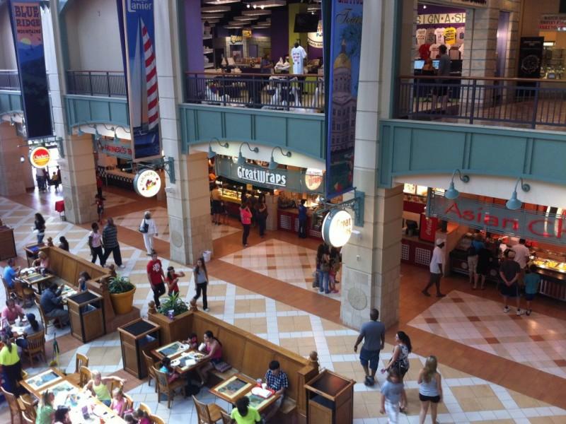 Asian mall and atlanta