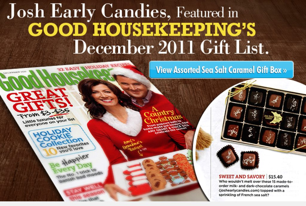 Josh Early Candies Featured in 'Good Housekeeping'