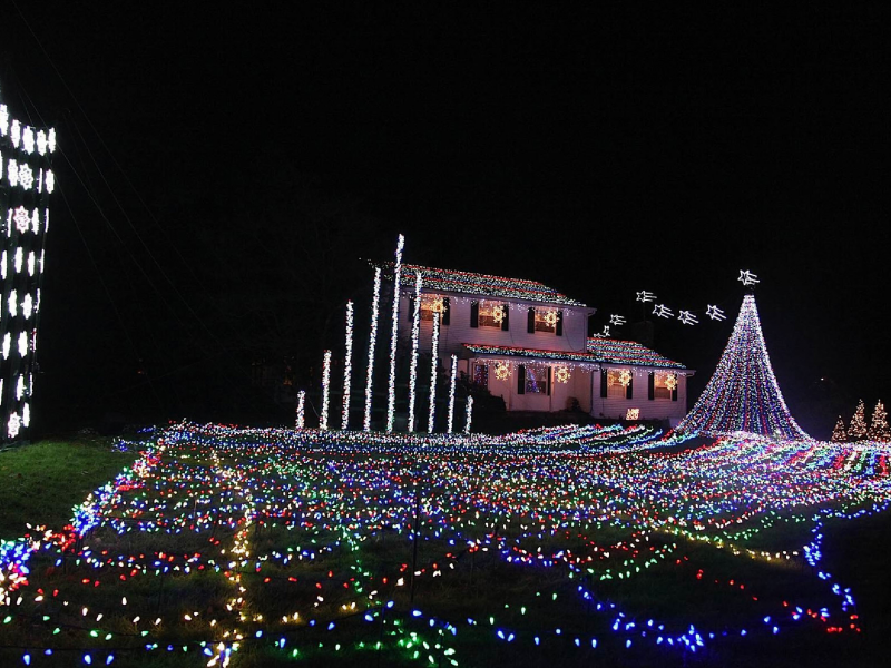 Cranbury Christmas Light Show To Kick Off Holiday Season Nice Look