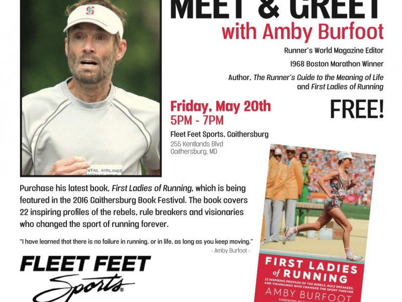 Meet and greet with amby burfoot of runners world magazine meet and greet with amby burfoot of runners world magazine m4hsunfo