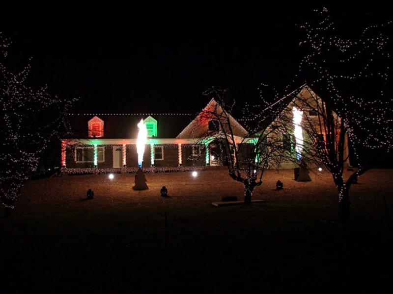 The Christmas Light Show   Wall, NJ Patch