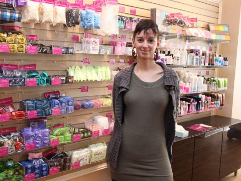 Sex retail store.